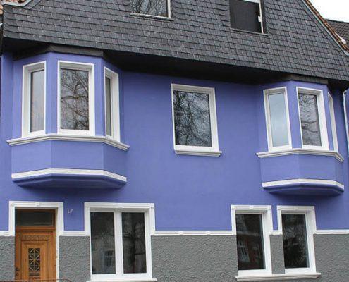 Fassadengestaltung Düsseldorf Malerbetrieb Schindler